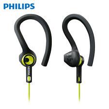 NEW Philips SHQ1400 Sports Earphones Earhook Headset 3.5mm Waterproof Headphones