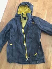 The North Face Resolve Jacket Rain Coat Boys XL 18/20 Grey/Yellow