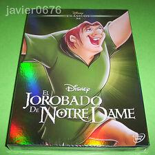 EL JOROBADO DE NOTRE DAME CLASICO DISNEY 34 - DVD NUEVO Y PRECINTADO SLIPCOVER
