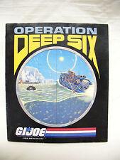 *1987 Gi Joe / Cobra* Promtional Insert *Only* -Figures/Vehicles - 100%Original