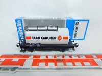 BZ657-0,5# Märklin H0/AC (4440) Kesselwagen Raab Karcher SOMO DB, sehr gut, OVP