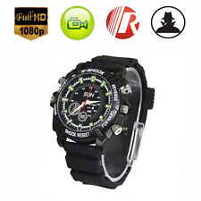 Night Vision 4GB HD 1080P Spy Hidden Watch Camera Waterproof Camcorder Mini Cam
