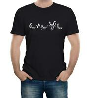 Einstein's Field Equations Mens T-Shirt Science Physics Genius Relativity