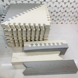 "Skip Hop Foam Baby Play Mat: Playspot Interlocking Foam Floor Tiles, 70"" x 56"","