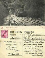 portugal, BRAGA, Elevador do Bom Jesus, Funicular Railway Train (1911) Stamp