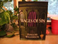 Wages of Sin by Penelope Williamson (2003, Hardcover)