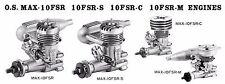 OS MAX 10FSR 10FSR-S 10FSR-C 10 FSR-M  ENGINE INSTRUCTIONS
