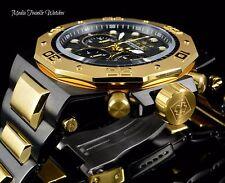 Invicta 52mm Akula Quartz Chronograph Black Dial Two Tone Bracelet Watch