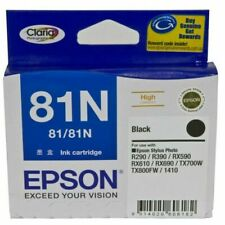 Epson 81N High Capacity Claria Ink Cartridge - Black (C13T111192)