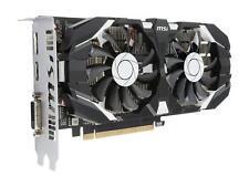 MSI GeForce GTX 1050 Ti 4GT OC  4GB 128-Bit GDDR5 DirectX 12 PCIe Graphics Card