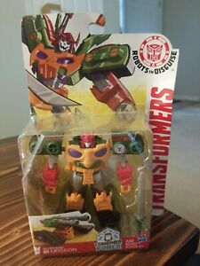 Transformers RID Bludgeon Robots in Disguise Warrior Class Hasbro box not mint