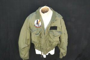 Vietnam War USN / USMC Carter Industries 46 Regular WEP Flying Winter Jacket