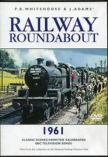 RAILWAY ROUNDABOUT 1961 TRAINS DVD - P.B. WHITEHOUSE & J. ADAMS