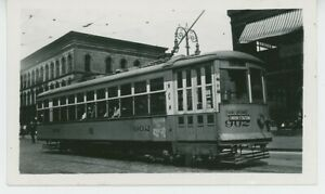 1930s Capital Traction Co. #902 Streetcar Washington DC Transit Trolley Electric