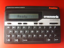 Franklin Cw-50 Crossword Puzzle Solver Handheld Tested Works, Soft Case Included