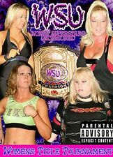 WSU Womens Wrestling - Womens Title Tournament  DVD Alicia Luna Vachon Amy Lee