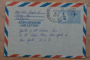 Mayfairstamps Philippines 1970 Pasay city to US Stationery Aerogramme wwp77223