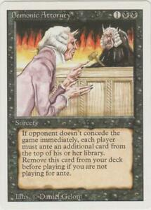 ►Magic-Style◄ MTG - Demonic Attorney - Revised - EX+