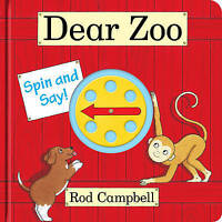 Dear Zoo Spin and Say by Campbell, Rod, NEW Book, FREE & Fast Delivery, (Board b