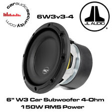 "Jl Audio W3 6w3v3-4 6 ""pulgadas 165mm 150 Watts 4 ohms coche Subwoofer Sub 6w3"