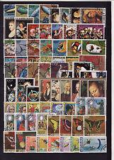 Comores  rare lot de plus de 250 timbres oblitérés  poste PA et +60 blocs TTB