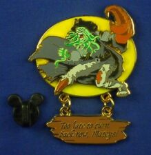 Davy Jones Pirates of the Caribbean Too Late to Turn Back Dangle Pin # 47083