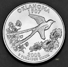 2008 P Oklahoma State Quarter-Uncirculated Clad United States 50 State Quarters