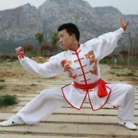 Mens Retro Chinese Tai Chi Clothing Kung Fu Wushu Martial Arts Suit Adults Kids