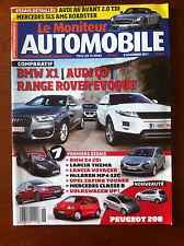 Le moniteur Automobile 9/11/2011; BMW Z4 20i/ Lancia Thema/ Lancia Voyager