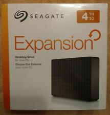 Seagate Expansion External Hard Drive 4TB  STEB4000100 NIB NEW Sealed SHIPS FAST