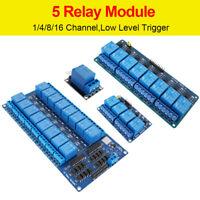 5V module de carte relais de canal pour Arduino Raspberry pi DSP PIC ARM AVR