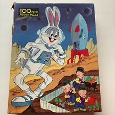 1979 Whitman Looney Tunes Bugs Bunny Astronaut 100 Piece Puzzle