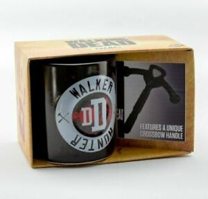 OFFICIAL THE WALKING DEAD DARYL 3D TEA COFFEE CUP MUG BRAND NEW!