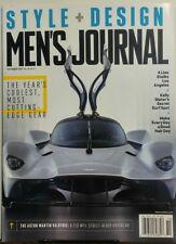Men's Journal Oct 2017 Style Design Gear Aston Martin Valkyrie FREE SHIPPING sb