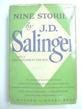 NINE STORIES by J.D. SALINGER 1959 1ST MODERN LIBRARY EDITION HC w/ JACKET 1.65