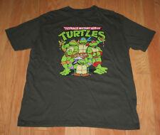 Mens Teenage Mutant Ninja Turtles T-Shirt Size XL Pizza TMNT