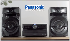Smart Hi Fi System Panasonic Bluetooth CD Player Home Music Centre USB iPhone UK
