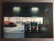 2017 Porsche 919 Hybrid Le Mans Race Car Showroom Advertising Sales Poster RARE!