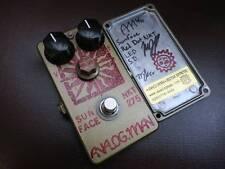 Sun Face Analog.man Analogman Sunface guitar effects pedal