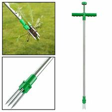 WEED PULLER TWISTER REMOVER TWIST PULL GARDEN LAWN ROOT KILLER WEEDING TOOL NEW