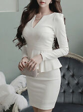 Peplum Mini Fashion  Dress, Delivery In About 15 Days