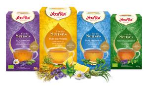 Yogi For the Senses Ayurvedic Herbal Organic Teas - 20 plastic free teabags