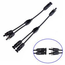 2x 5m Câble de Connexion 4 mm² avec Mc4 Crampon Panneau Solaire À