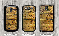 EGYPT ANTIQUES MYSTERIOUS HIEROGLYPHS CASE FOR SAMSUNG GALAXY S3 S4 NOTE 3 fds2Z