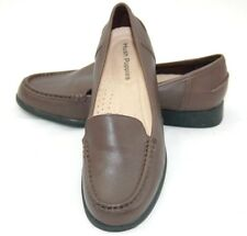 Hush Puppies women's shoes loafers slip-on size 8.5 brown leather