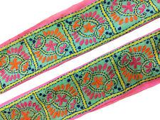 Antique Vintage Sari Lace Border Trim Sewing Ribbon Wide Saree Border ST1320