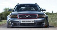 Audi RS6 A6 S6 C5 02-05 Original Pare Choc avant Grille Supérieure Noir