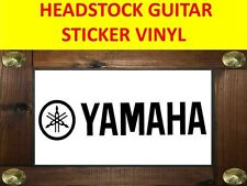 YAMAH BLACK  STICKER AUFKLEBER GUITAR VISIT OUR STORE WITH MANY MORE MODELS