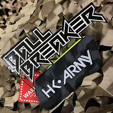 New Hk Army Ball Breaker 2.0 Barrel Cover Sock Plug Condom - Charcoal Grey/Black