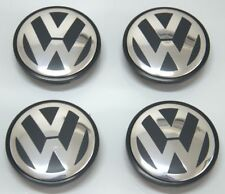4x Wheel Center Cap Hub Logo For VW Jetta Golf Passat Beetle Tiguan CC 3B7601171